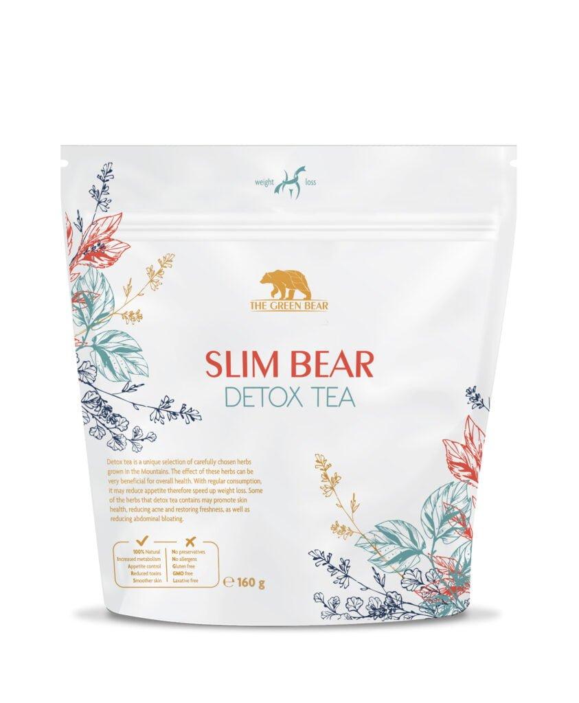 Slim Bear детокс чай за отслабване